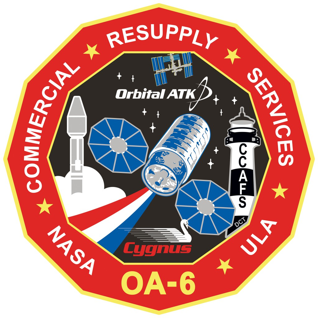 OA-6 patch. Credit: Orbital ATK