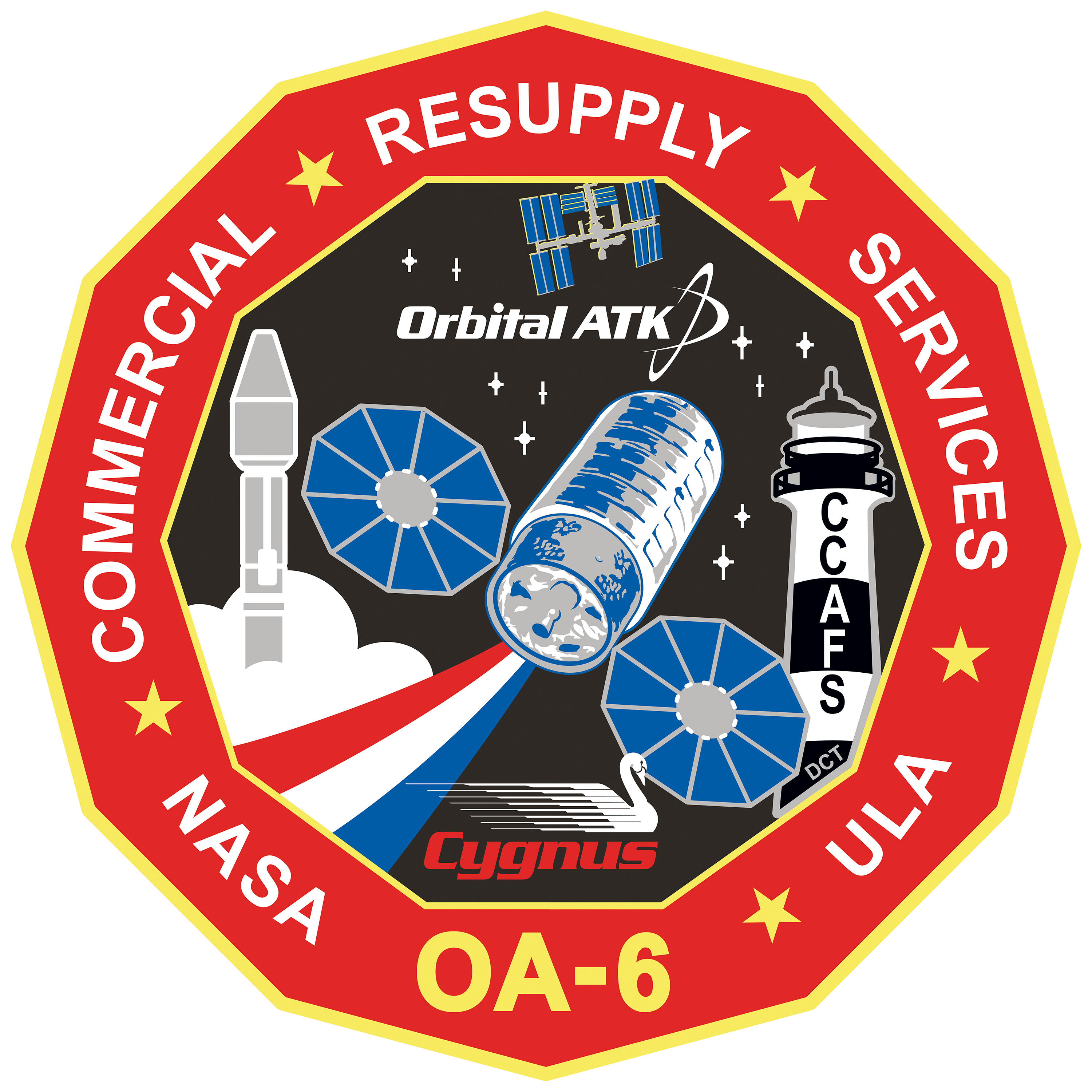 Nro mission patches activity