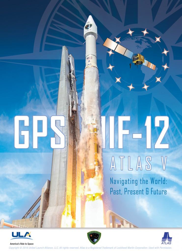 The official launch poster. Credit: ULA