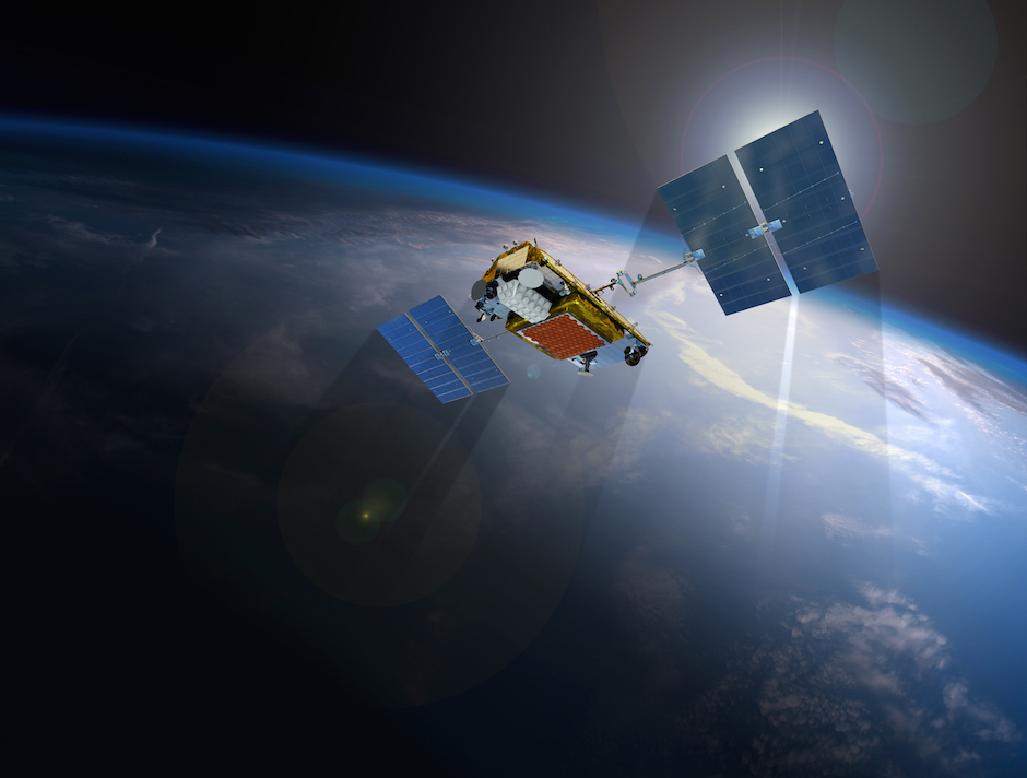 Artist's concept of an Iridium Next satellite. Credit: Iridium