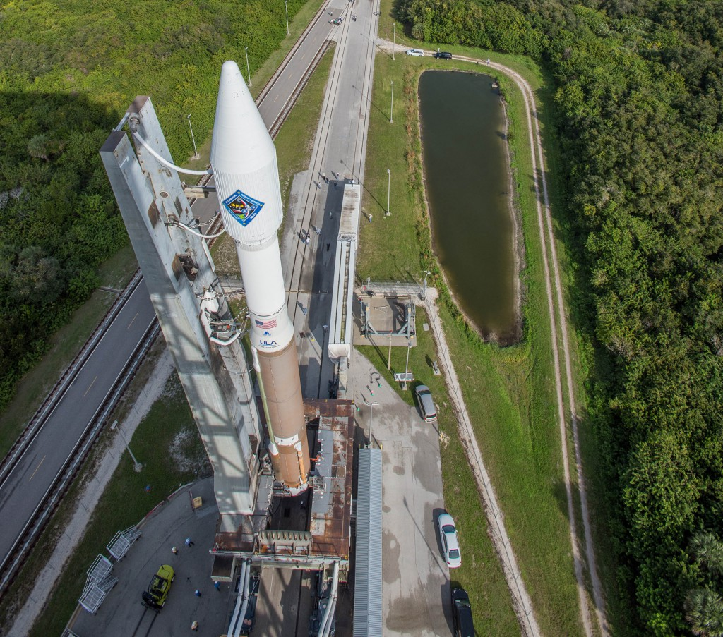 Atlas 5 with a Cygnus aboard. Credit: ULA