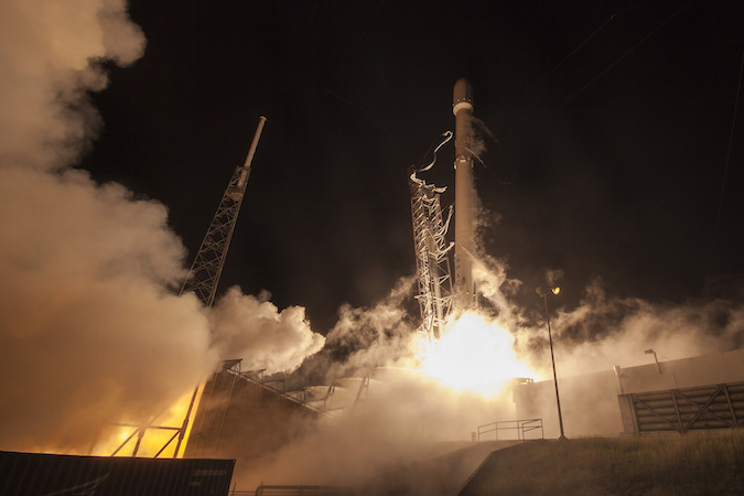 File photo of a Falcon 9 launch from Cape Canaveral. Credit: SpaceX