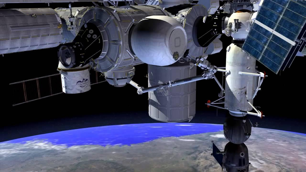 Artist's concept of the BEAM structure attached to the International Space Station. Credit: NASA