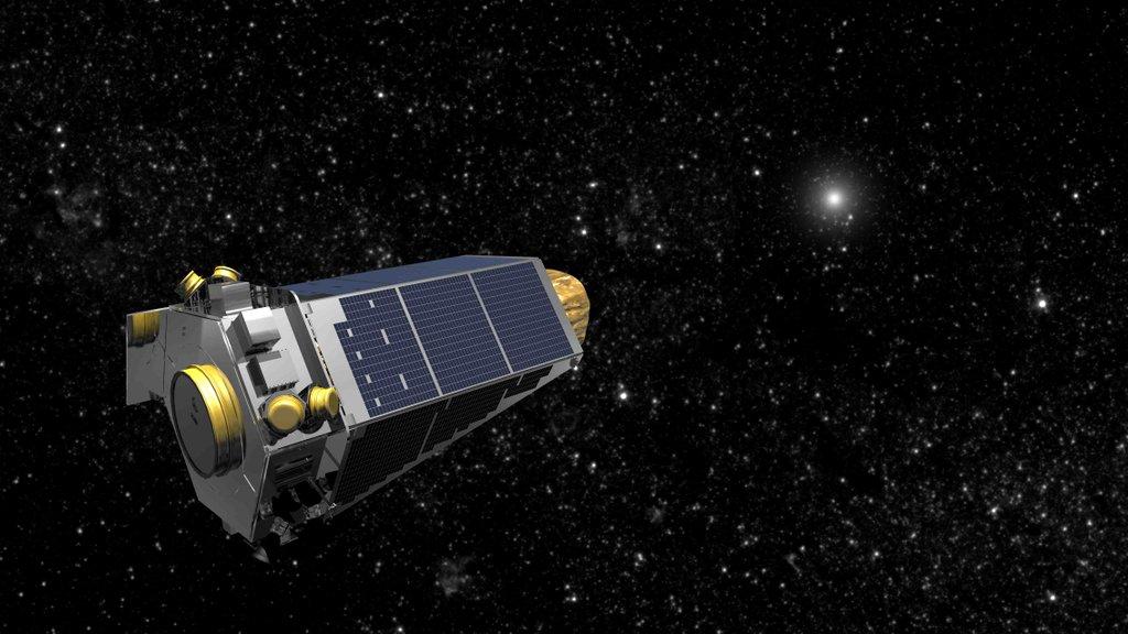 Artist's concept of the Kepler observatory. Credit: NASA