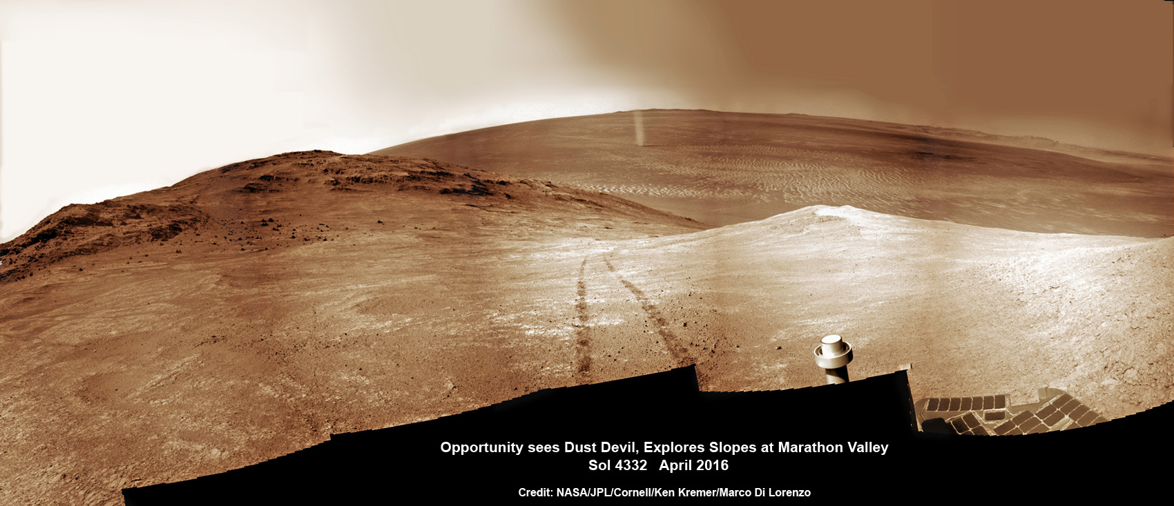 Credit: NASA / JPL / Cornell / Ken Kremer (kenkremer.com) / Marco Di Lorenzo