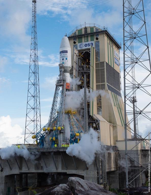 Photo credit: ESA/CNES/Arianespace – Photo Optique Video du CSG – H. Rouffie