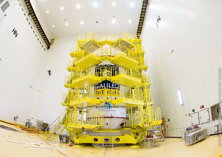 Photo credit: ESA/CNES/Arianespace – Photo Optique Video du CSG – S. Martin