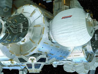Artist's concept of the Bigelow Expandable Activity Module. Credit: NASA