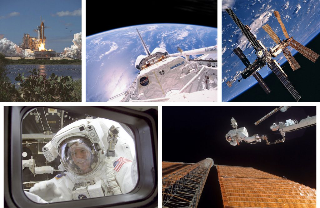 Memories from Parazynski's five missions.