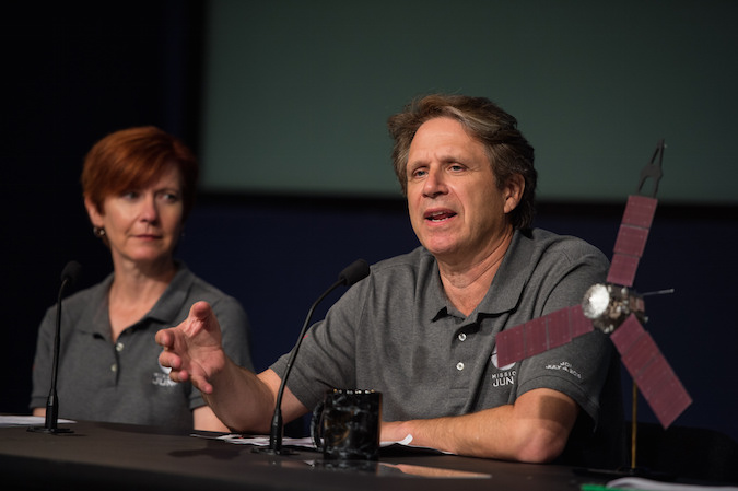 Juno principal investigator Scott Bolton. Credit: NASA/Aubrey Gemignani