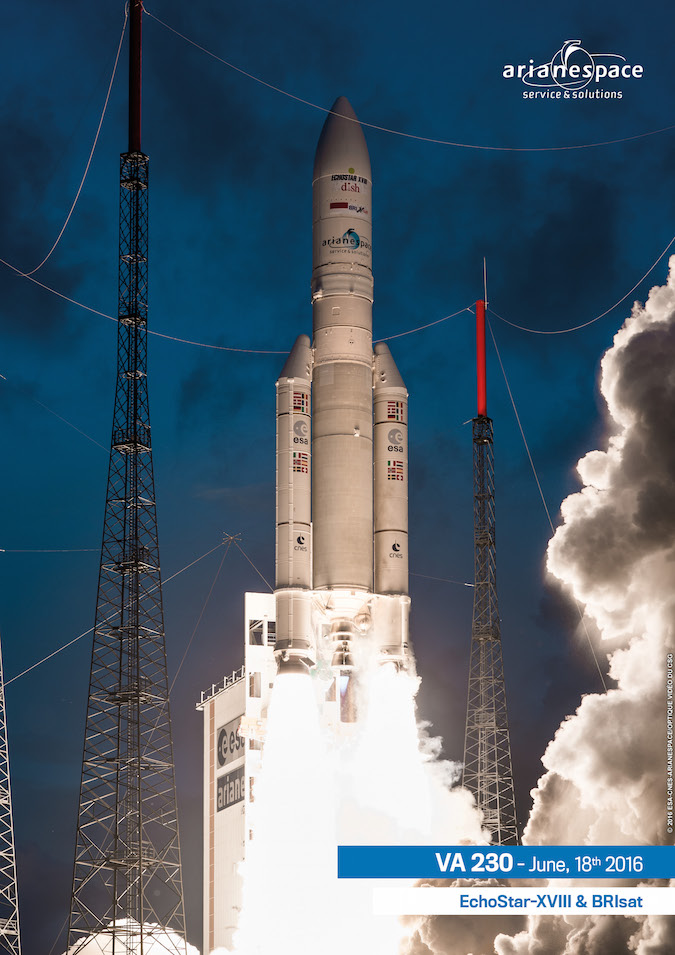 Photo credit: ESA/CNES/Arianespace – Photo Optique Video du CSG
