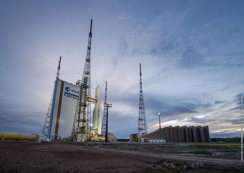 Photo credit: ESA/CNES/Arianespace – Photo Optique Video du CSG – P. Piron