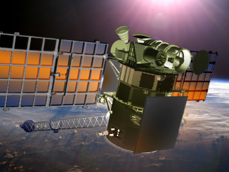 Artist's concept of the Deep Space Climate Observatory. Credit: NOAA