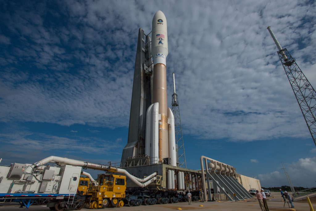 File photo of the last Atlas/MUOS launch in September. Credit: ULA