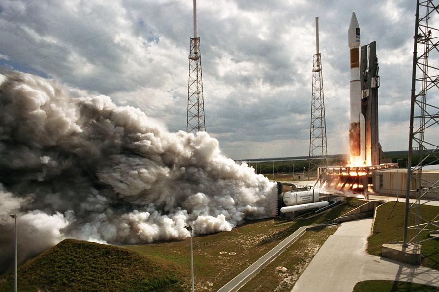 Launch of Atlas AV-014 ICO G1