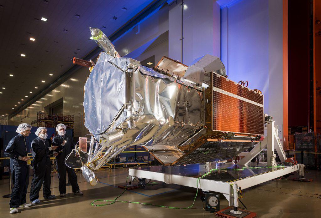 WorldView 4. Credit: Lockheed Martin