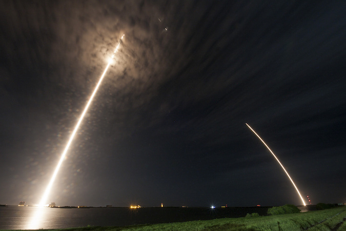SpaceX sends supplies to space station, lands another Falcon rocket – Spaceflight Now