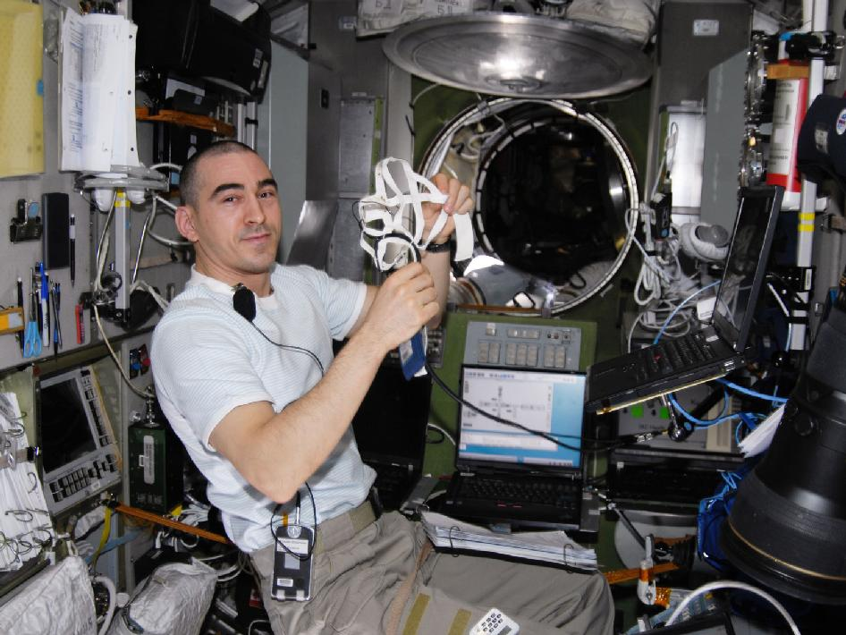 Anatoly Ivanishin is launching on his second space mission, after spending 165 days in space in 2011 and 2012. Credit: NASA