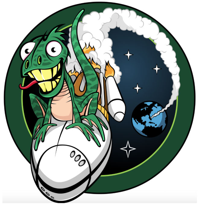 The NROL-61 mission patch. Credit: NRO