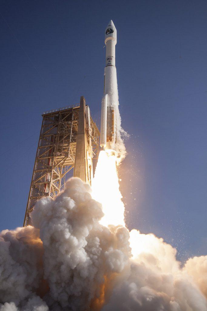 Official NROL-61 launch photo. Credit: ULA