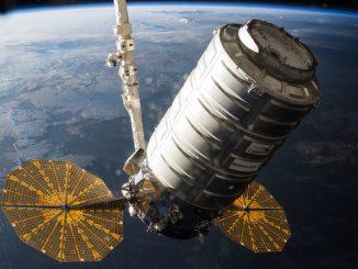 File photo of an Orbital ATK Cygnus supply ship. Credit: NASA