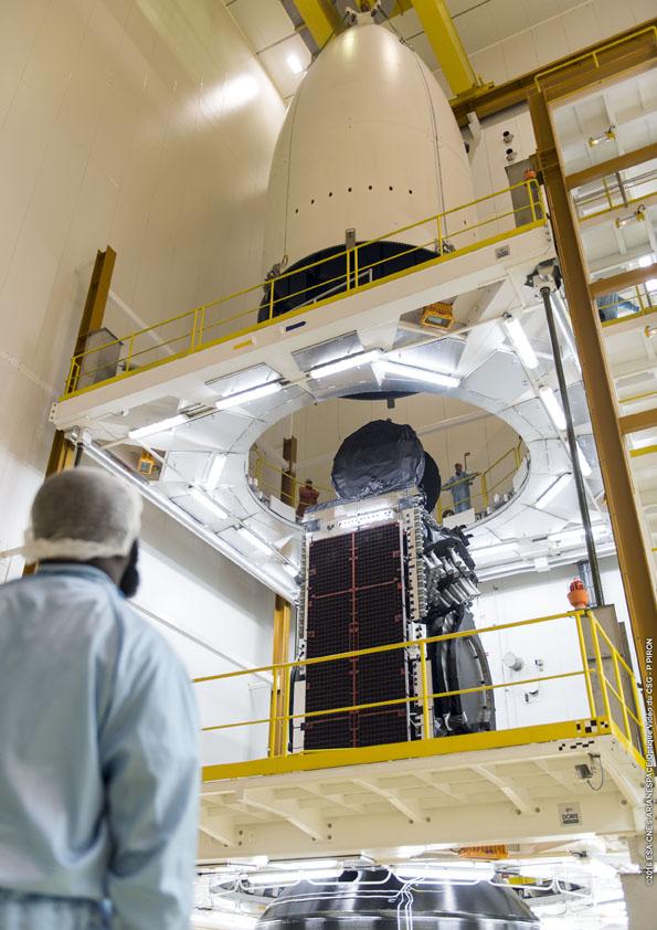Credit: ESA/CNES/Arianespace – Photo Optique Video du CSG – P. Piron