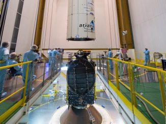 Integration composite sur lanceur