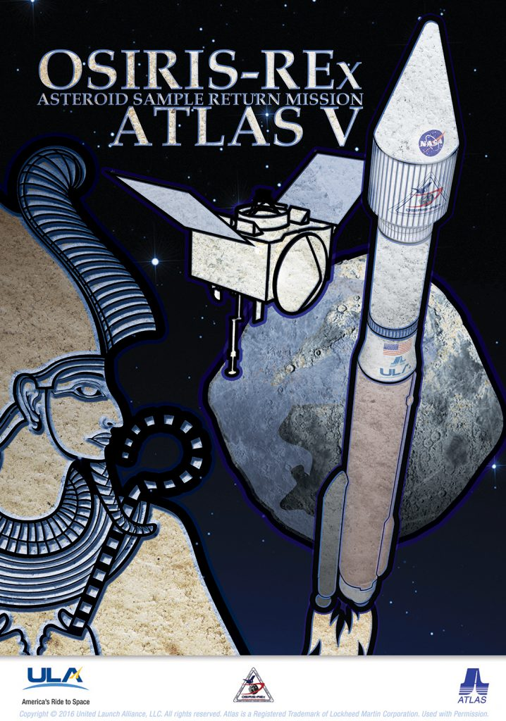 The mission poster. Credit: United Launch Alliance