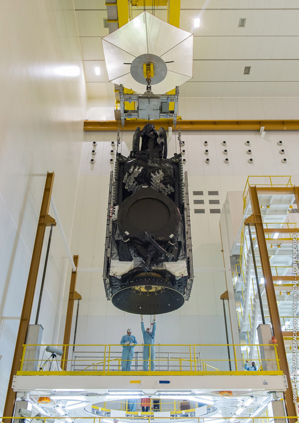 Credit: ESA/CNES/Arianespace – Photo Optique Video du CSG – J. Durrenberger