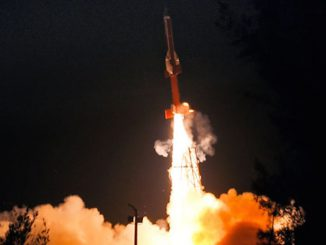 The Advanced Technology Vehicle, a two-stage sounding rocket, blasted off Sunday with India's scramjet engine demonstrator. Credit: ISRO