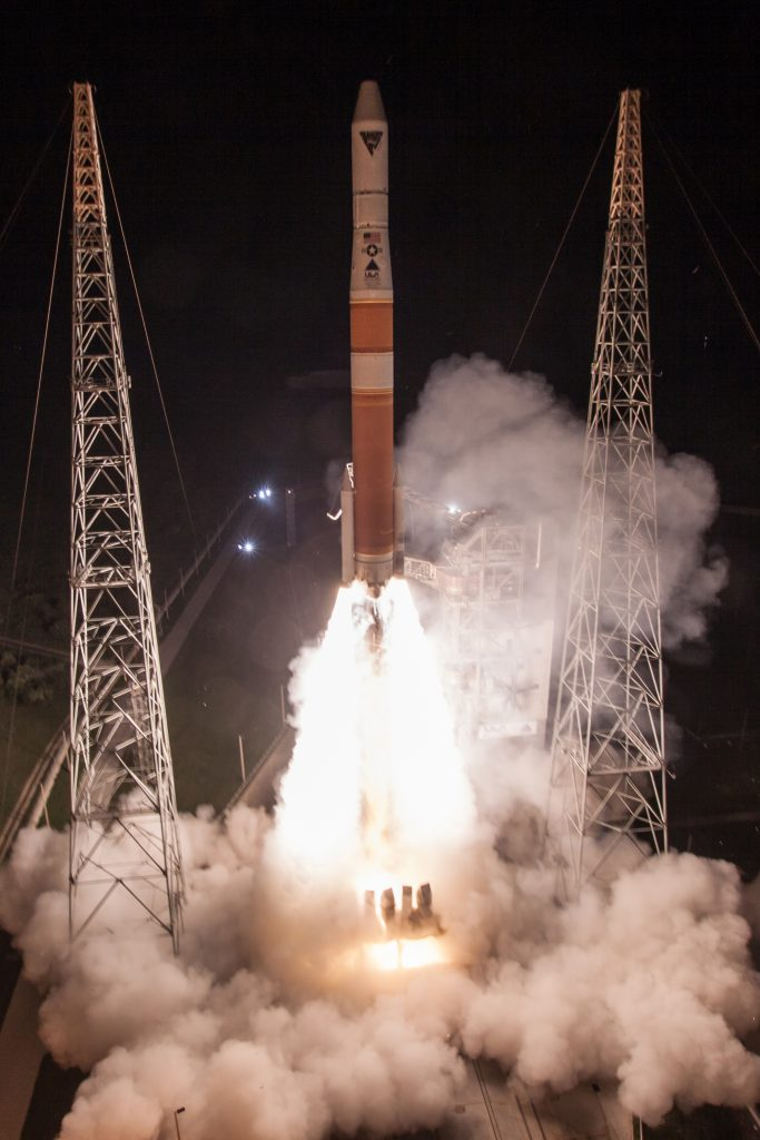 Official launch photo. Credit: ULA