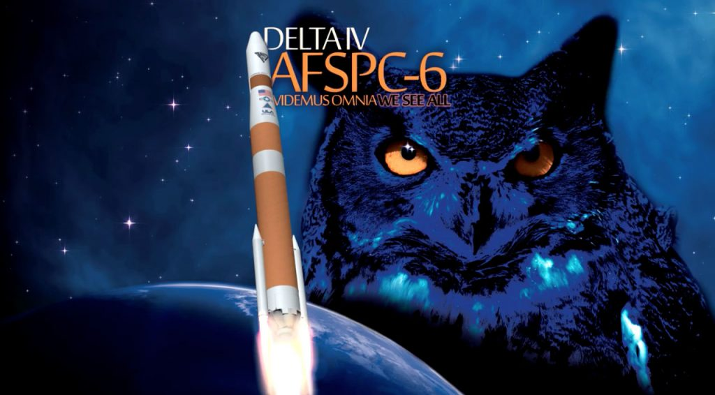 The commemorative launch artwork. Credit: ULA