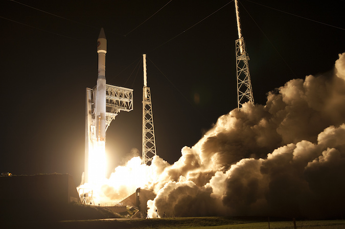 File photo of an Atlas 5 launch. Credit: NASA/Tony Gray & Kevin O'Connell