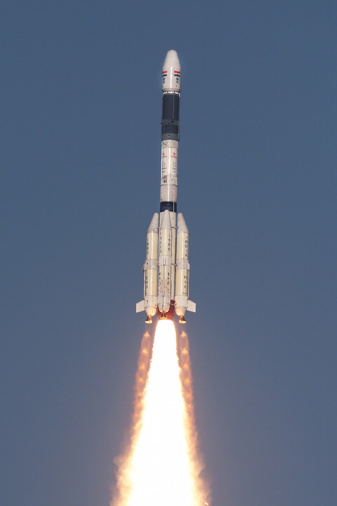 Photo credit: ISRO