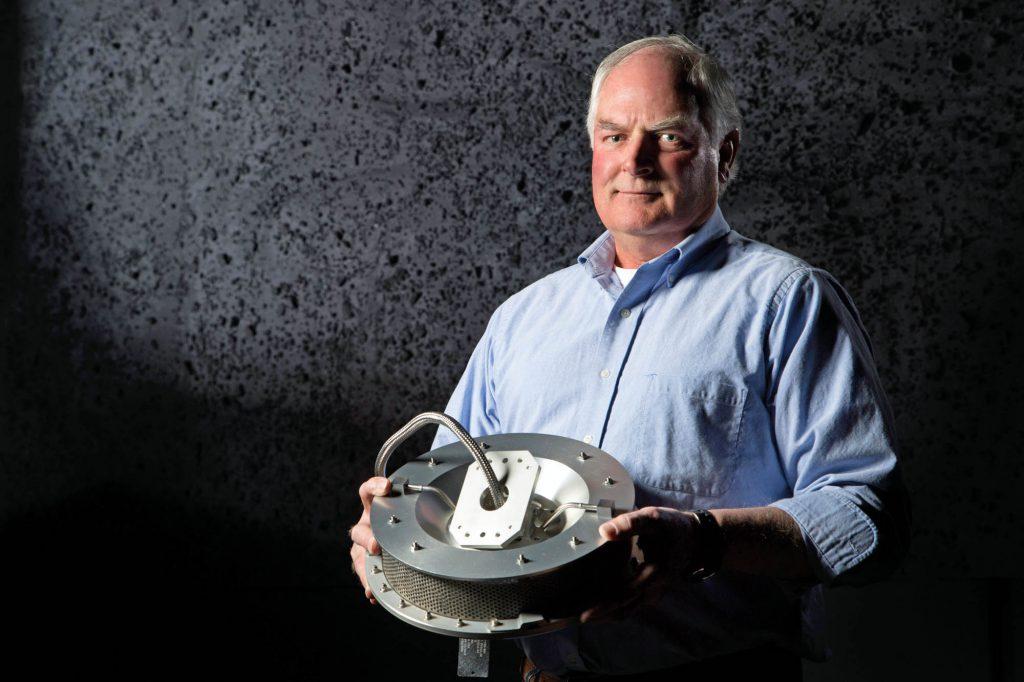TAGSAM inventor Jim Harris. Credit: Lockheed Martin