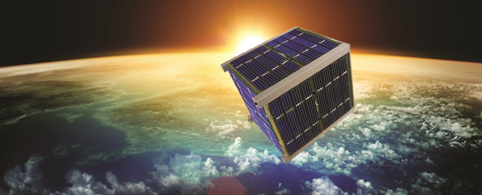 An artist's concept of a cubesat in space. Credit: ULA