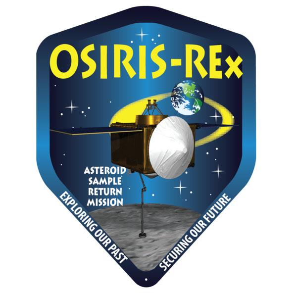 OSIRIS-REx mission logo. Credit: NASA