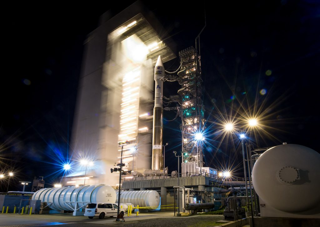 File photo of Atlas 5 at Vandenberg. Credit: Bill Ingalls/NASA
