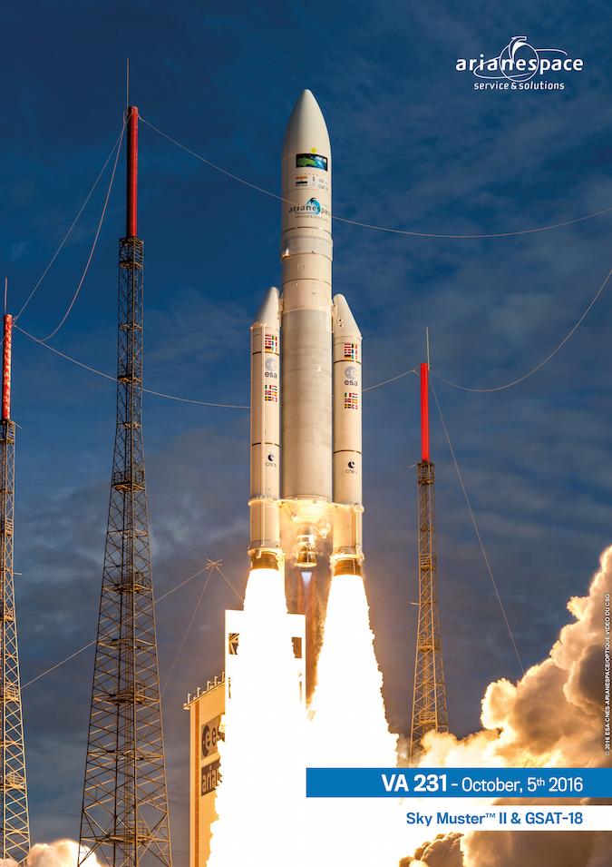 Photo credit: ESA/CNES/Arianespace – Photo Optique Video du CSG