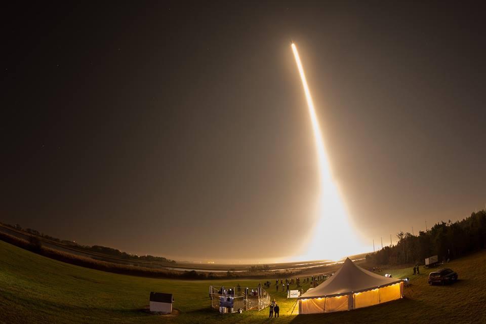 Photo credit: NASA/Wallops Flight Facility