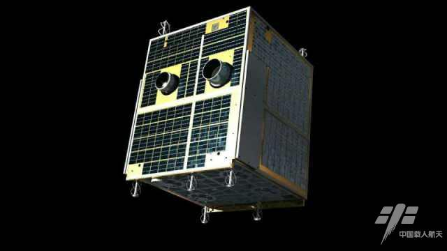 Artist's concept of the Banxing 2 satellite. Credit: China Manned Space Engineering Office