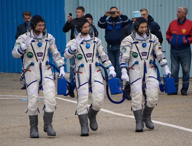 Photo credit: NASA/Victor Zelentsov
