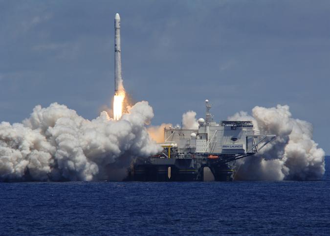 File photo of a Zenit 3SL rocket launch. Credit: Sea Launch