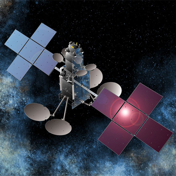 Artist's concept of the Sky Muster 2 satellite. Credit: Space Systems/Loral