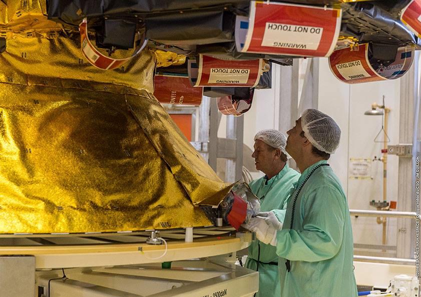 Credit: ESA/CNES/Arianespace – Photo Optique Video du CSG – JM Guillon