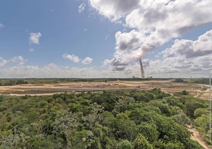 Credit: ESA/CNES/Arianespace – Photo Optique Video du CSG – S. Quartararo