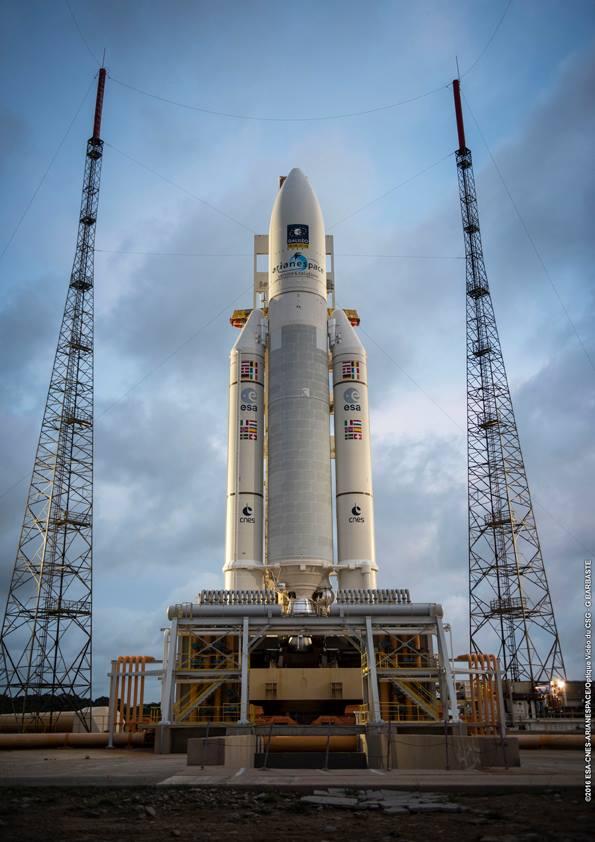 Credit: ESA/CNES/Arianespace – Photo Optique Video du CSG – G. Barbaste