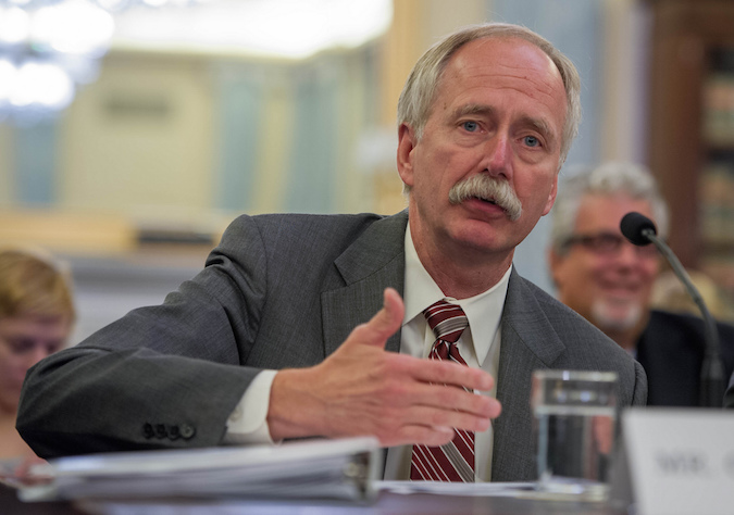 File photo of Bill Gerstenmaier, head of NASA's human spaceflight division. Credit: NASA/Paul E. Alers