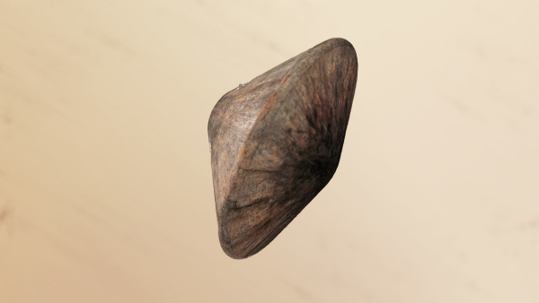 Artist's concept of the Schiaparelli lander inside its scorched heat shield. Credit: ESA/ATG medialab