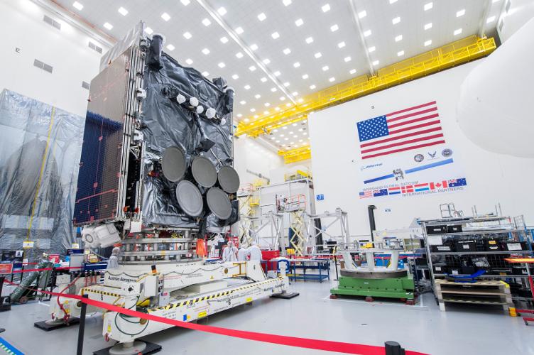 WGS 8 satellite. Credit: Boeing